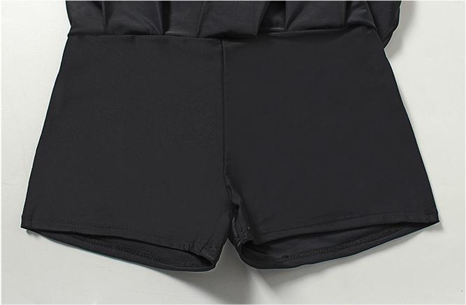 프랑 치마 비키니 수영복 여자 여성 더블 블랙 랩스커트 체형보완 비치원피스 - 라라리빠, 31,900원, 수영복/래쉬가드, 수영복